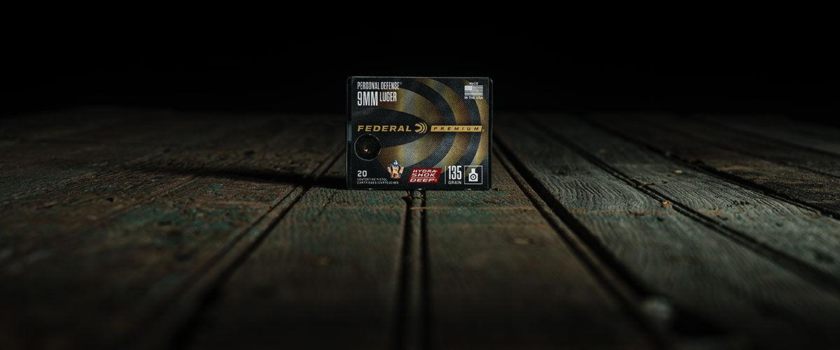 Federal Hydra-Shok Deep 9mm 135 Grain