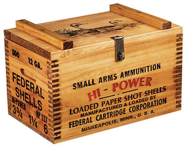 Federal Ammo Box
