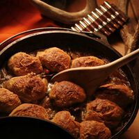 Venison Stew & Dumplings