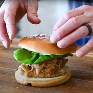 Chuk-Fil-A Sandwich