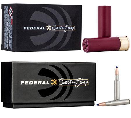 12 Gauge Custom Shotshell box and 6.5 Creedmore Custom Rifle Ammo box