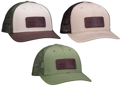 Federal Leather Patch Hat