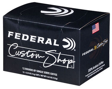 Federal Custom Shop Coffee Rounds