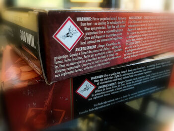 Product Packageing Warnings