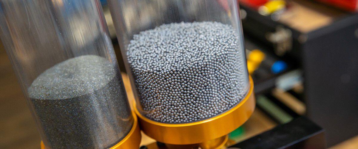 primer and shot inside cylinders