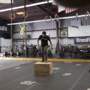 Dave Castro doing crates steps