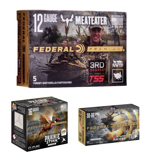 MeatEater, Prairie Storm, and Terminal Ascent Packaging