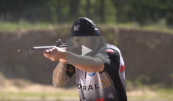 Josh Froelich Shooting a Pistol