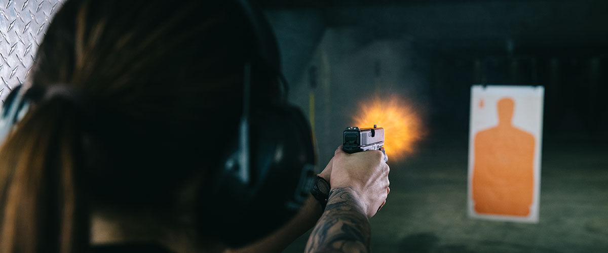 Pointed Pistol