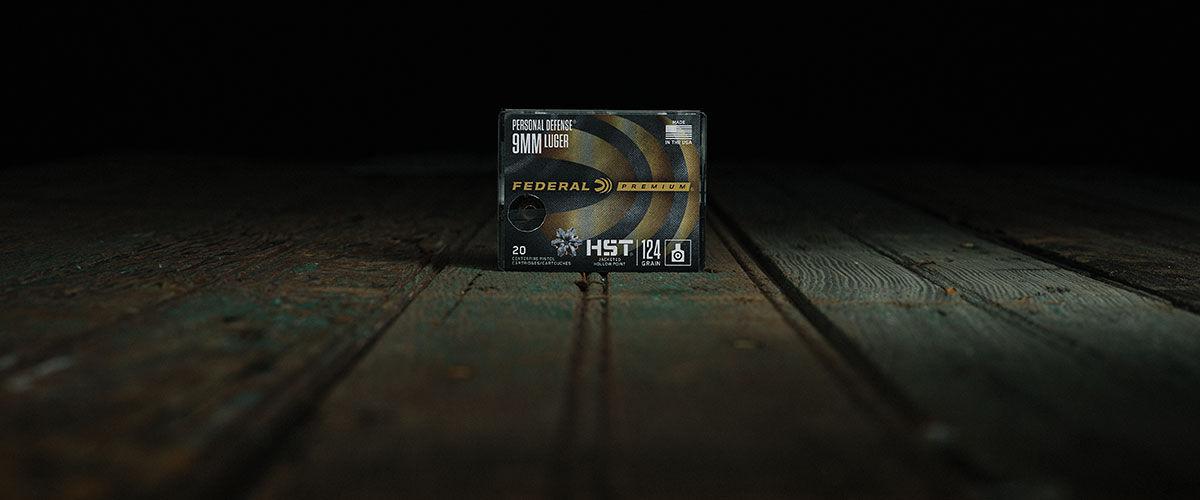 Federal HST 9mm 124 Grain