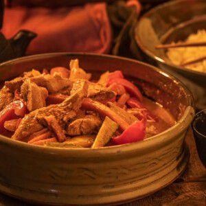 Thai Pheasant Stir Fry