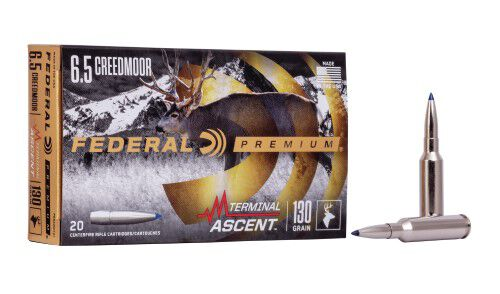 6.5 Creedmoor Termainal Ascent packaging and cartridge