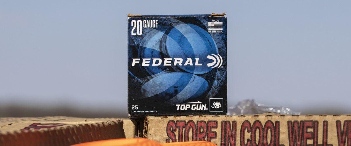 Federal Top Gun Sporting Clays packaging
