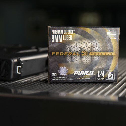 9mm Punch packaging