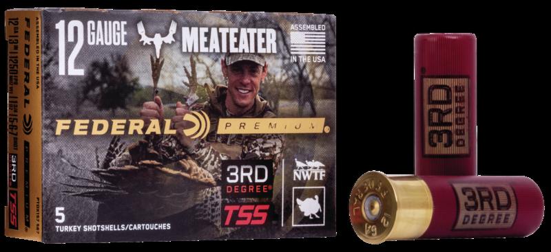 12 gauge 3rd Degree HeavyWeight TSS MeatEater Combo packaging