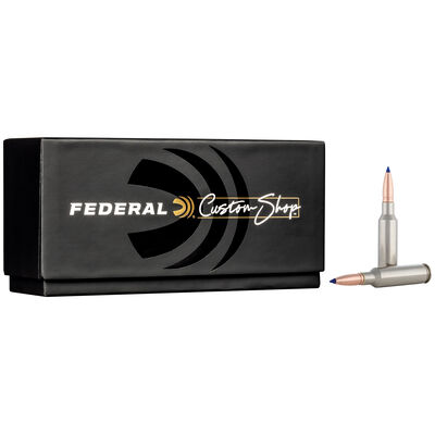 Custom Rifle Ammo 6.5 Creedmoor