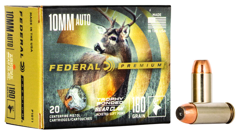 Buy Trophy Bonded Bear Claw Handgun for USD 34 95 | Federal Premium