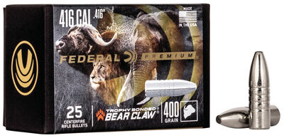 Trophy Bonded Bear Claw Component Bullet