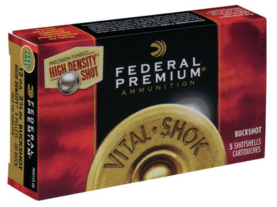 Vital•Shok Buckshot High Density with FLITECONTROL Wad