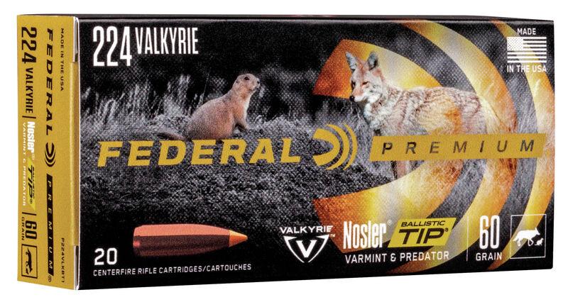 Varmint & Predator Nosler Ballistic Tip
