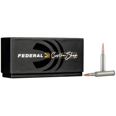 Custom Rifle Ammo 264 Win