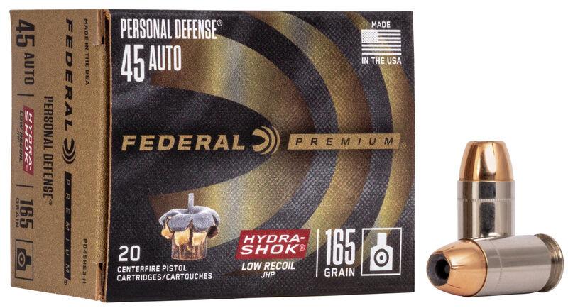 Personal Defense Hydra•Shok Low Recoil