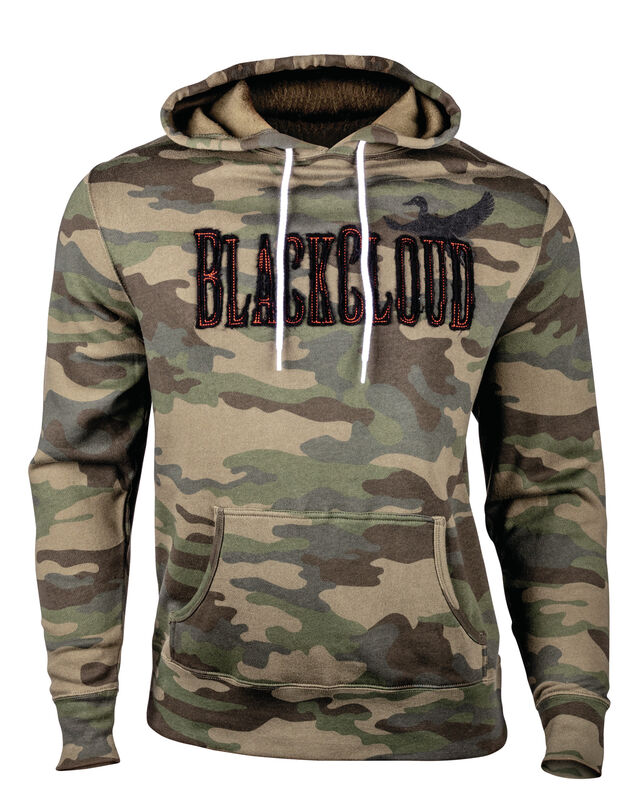 Black Cloud Camo Sweatshirt