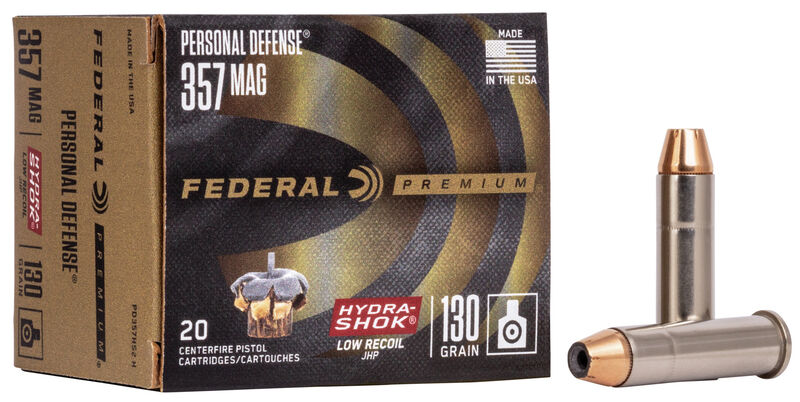 Personal Defense Hydra•Shok Low Recoil