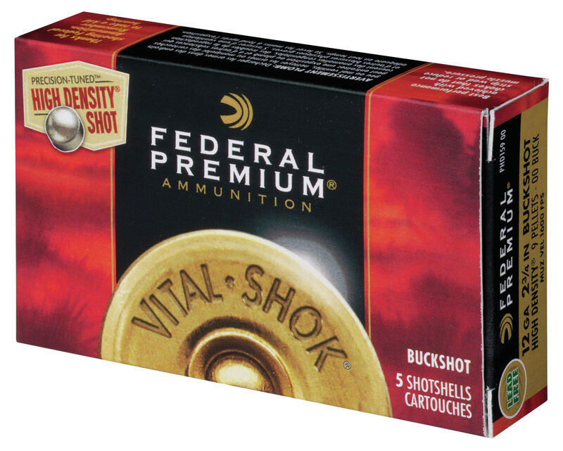Vital•Shok Buckshot High Density with FLITECONTROL Wad