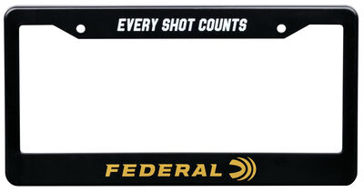 Federal License Plate Frame