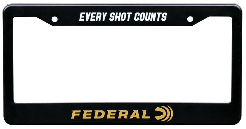 Federal License Plate Frame
