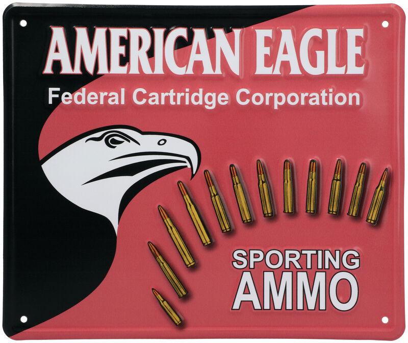 American Eagle Tin Sign