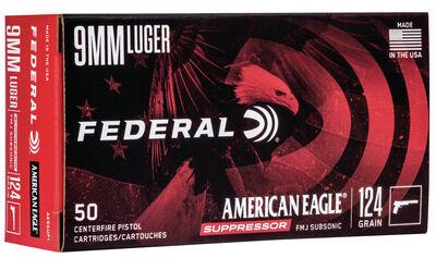 American Eagle Handgun Suppressor