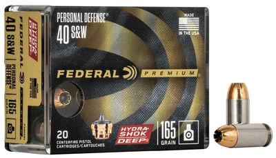 Personal Defense Hydra-Shok Deep