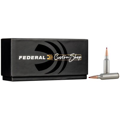 Custom Rifle Ammo 270 WSM