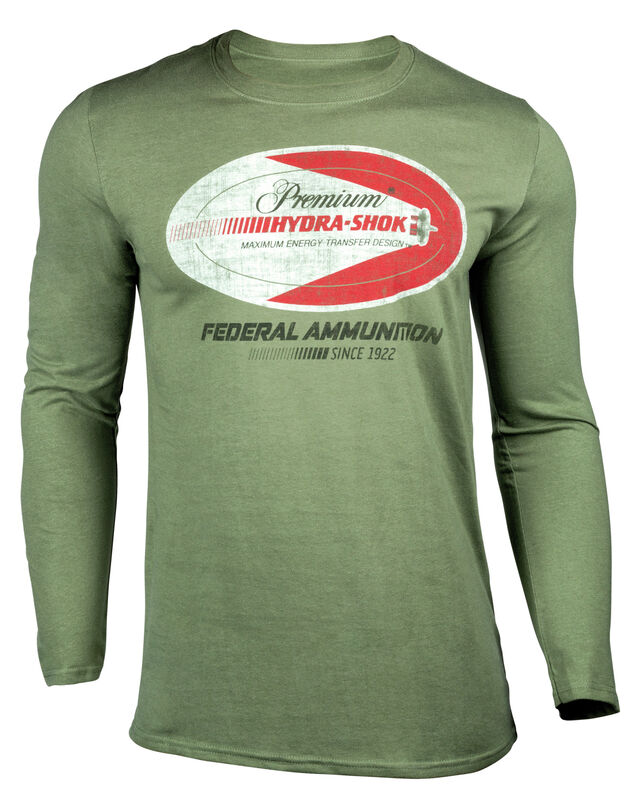 Hydra-Shok Retro Long Sleeve T-Shirt