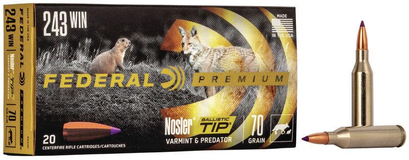 Buy V•Shok Nosler Ballistic Tip for USD 34 95 | Federal Premium