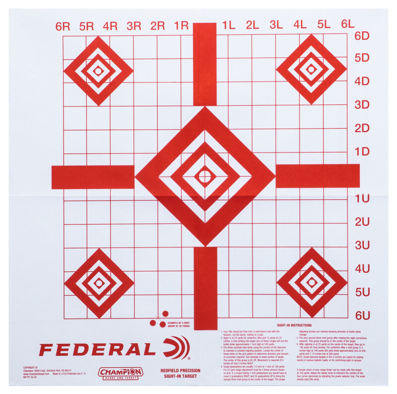 Federal Target Pack