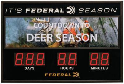 Federal Season Countdown Timer