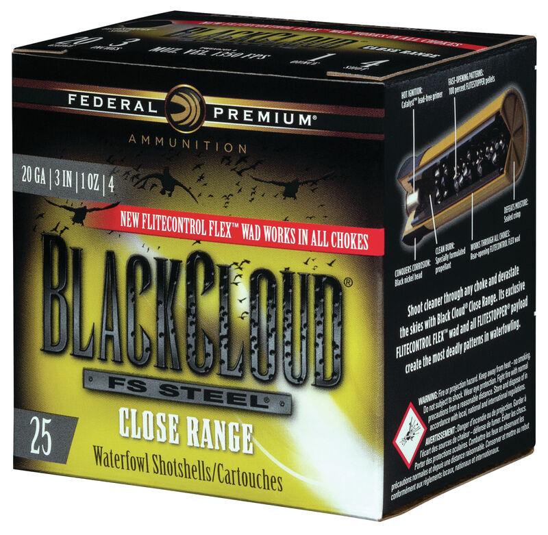 Black Cloud FS Steel Close Range