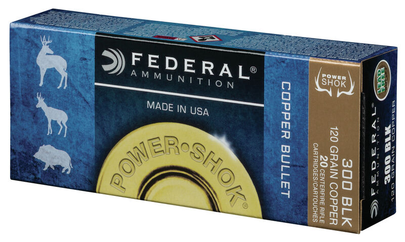 Power•Shok Copper Rifle