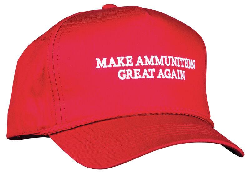 Make Ammunition Great Again Hat