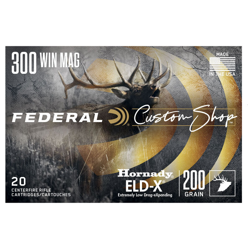 Custom Rifle Ammo 300 Win Mag