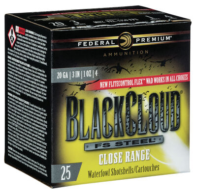 Black Cloud FS Steel Close Range