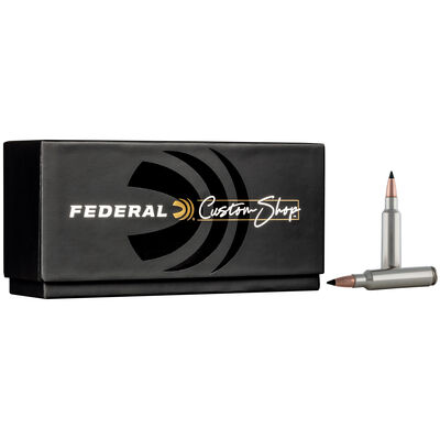 Custom Rifle Ammo 284 Win